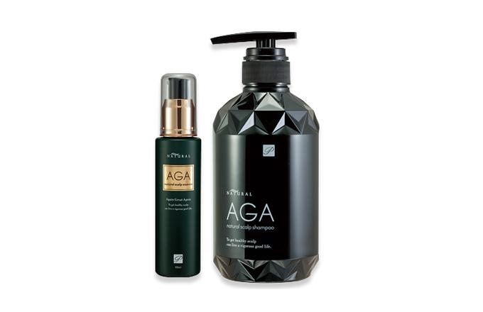 AGA shampoo&Essence